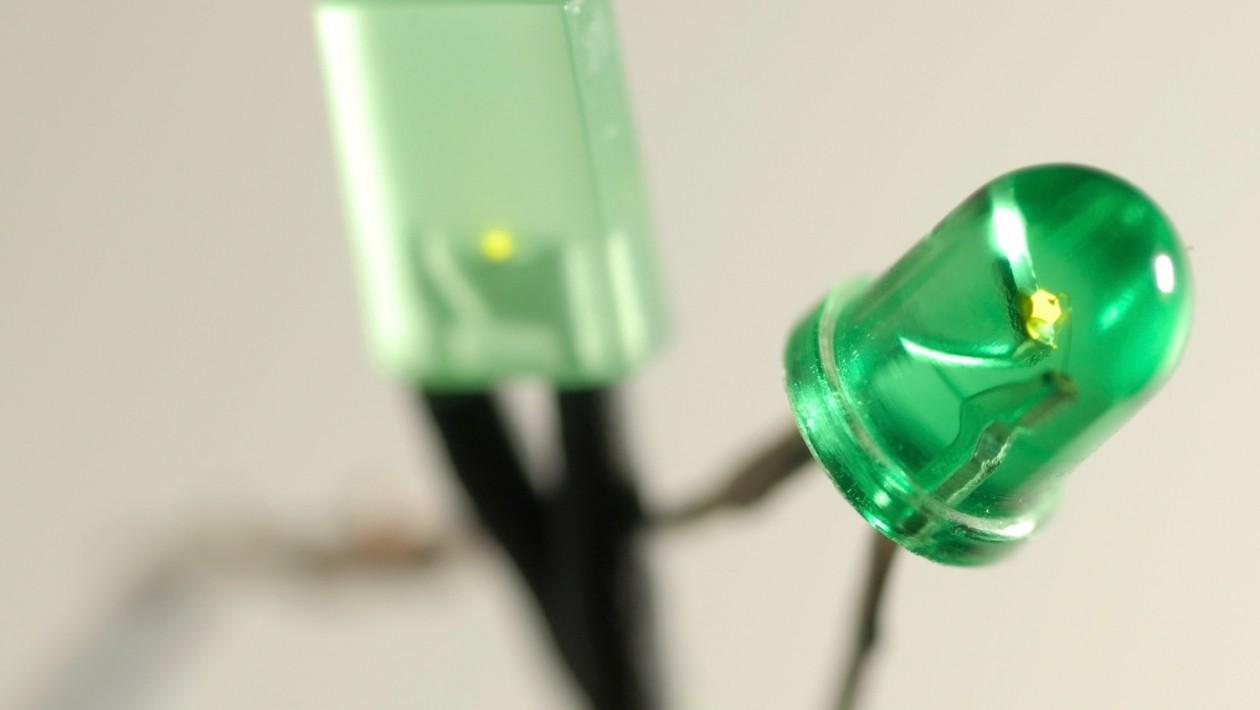 led-verde