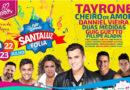 Santaluz Folia acontece entre 21 a 23 de julho com várias atrações.