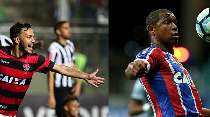 Bahia e Vitória  se dão bem na rodada e deixam a zona de rebaixamento.