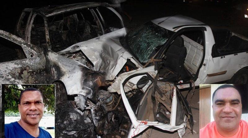 Mais um acidente na BA 120 deixa dois mortos; um teve o corpo carbonizado