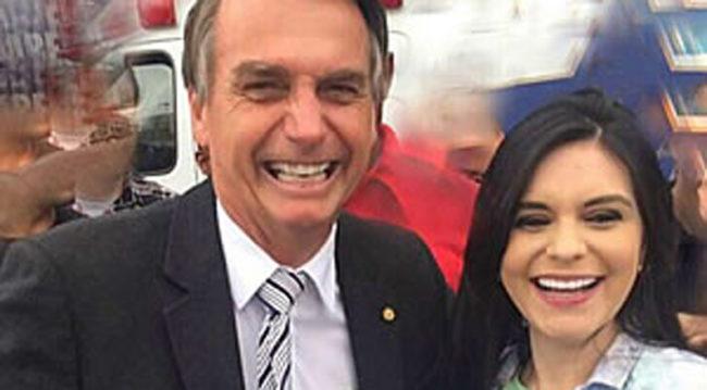 A baiana Dayane Pimentel foi convidada para ser candidata a vice de Bolsonaro.