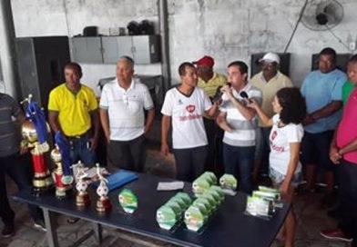 Coité: Deputado Tom Araújo participa da final do Campeonato Fabilu