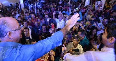 O deputado Tom Araujo e Zé Ronaldo lança a campanha política com grande participação popular