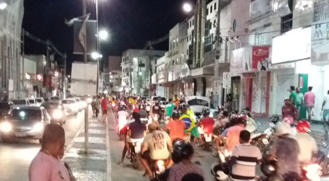 Apoiadores de Bolsonaro  realizam grande carreata em Conceição do Coité – BA