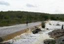 Mais chuvas fortes na região do sisal, fizeram sangrar açudes e represas