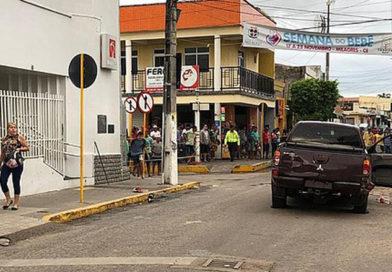 Dez pessoas morrem em tentativa de assalto a dois bancos no Ceará