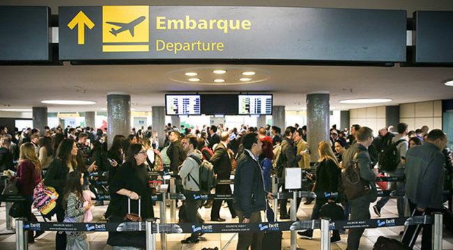 Ocorrências em aeroportos prejudicam passageiros