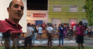 Jovem executado em frente a um Bar na cidade de Santaluz