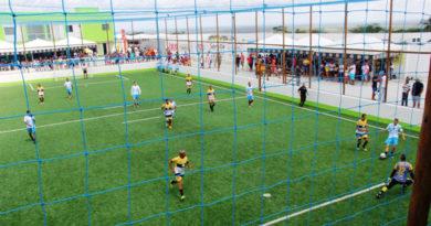 Inaugurado a Arena WA esportiva em Coité