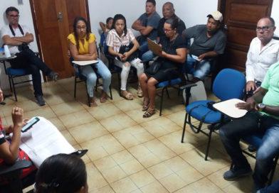 Cartório eleitoral de Coité reúne lideranças e imprensa para pedir apoio para divulgação cadastramento biométrico
