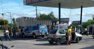 Motorista foi desviar de Buracos na pista mas atropela e mata uma mulher em Coité.